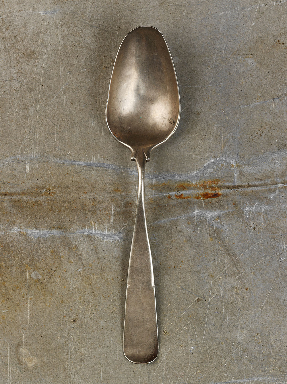 #46 Silver Serving Spoon