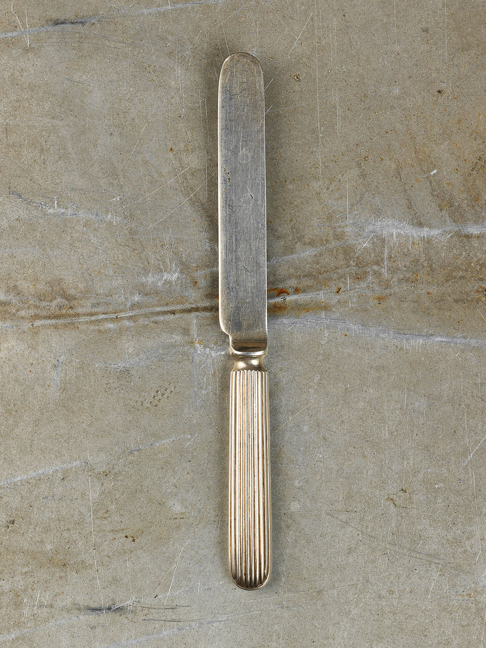 #53 Silver Butter Knife