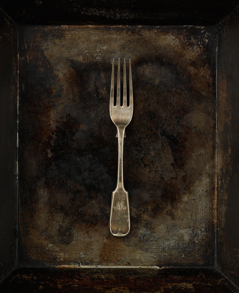 #45 Tarnished Silver Fork