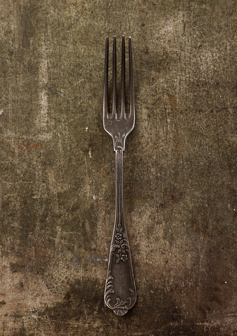 #15 Dark Metal Fork