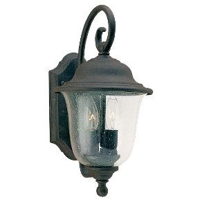 Sea Gull Lighting Three Light Oxidized Bronze Lantern