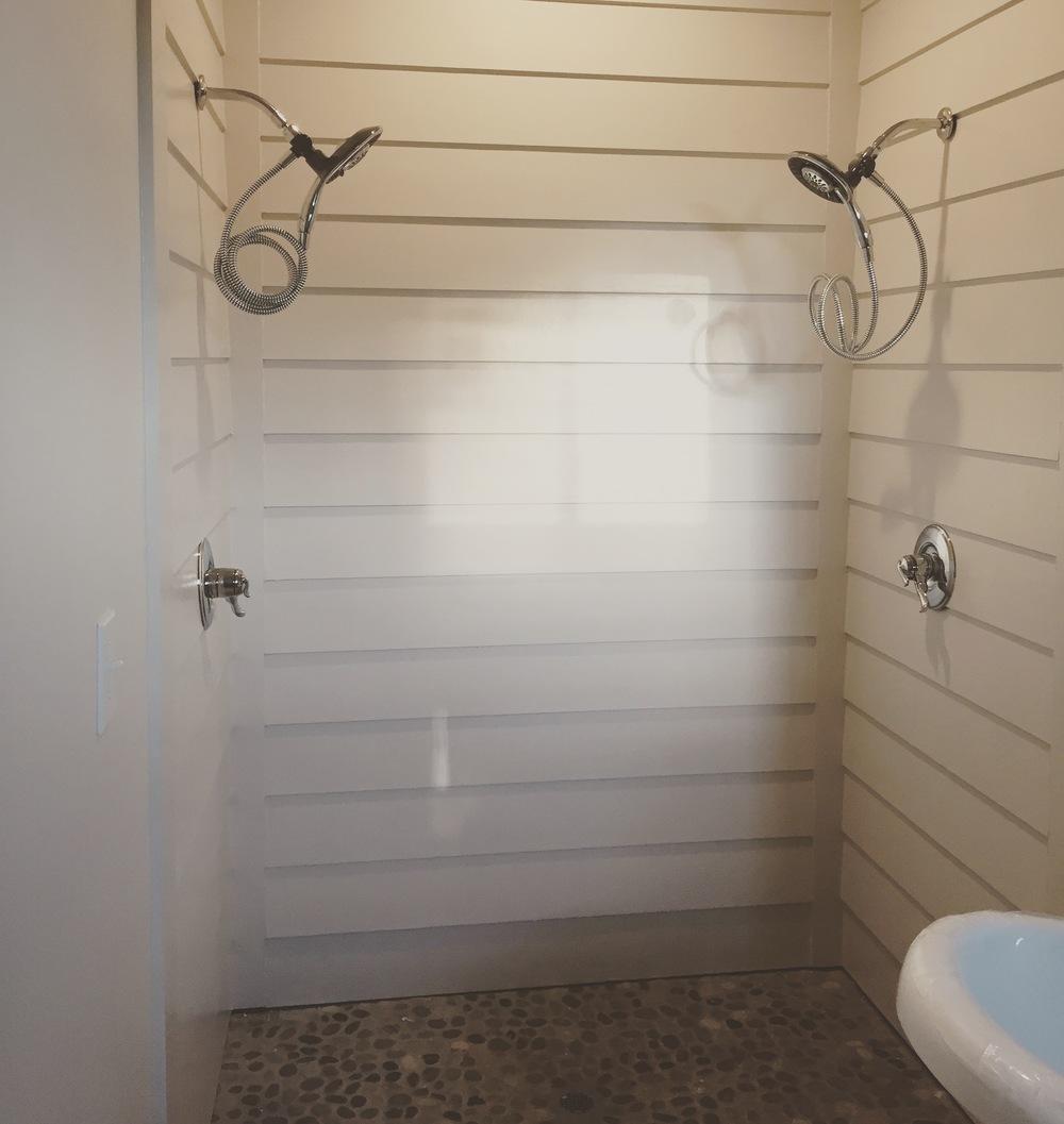 Shiplap Shower Reveal Front Porch Design Studio