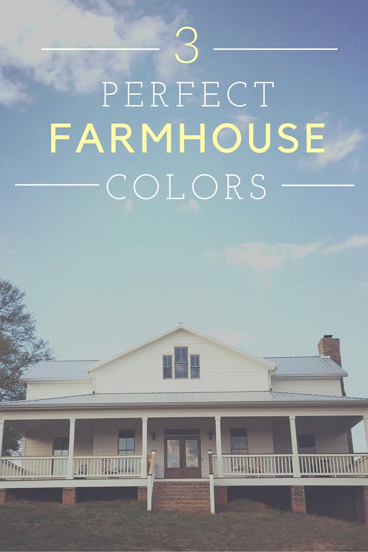 White Farmhouse Exterior Color Choices