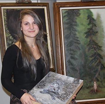 Recent Grad - Artist & Jeweler Rachel Wittchen