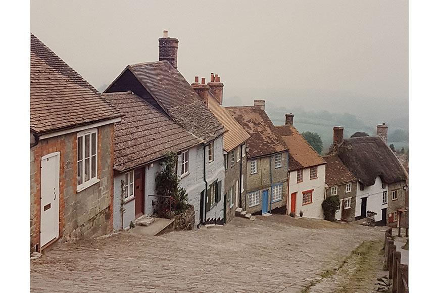 """Dorsett England Shafsbury"" by Ray Hartl Size: 25 x 30 in. $175"