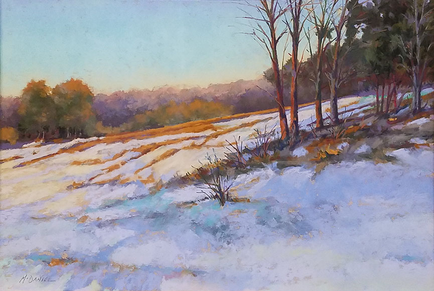 """Maple Slope"" by Richard McDaniel Size: 16x20.5 in.  $850"