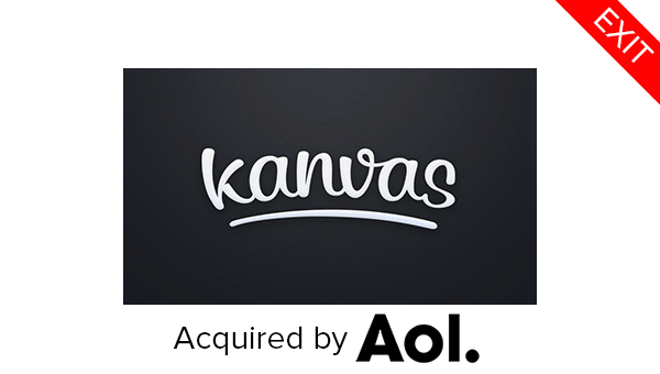 Kanvas photo app AOL KEC Ventures