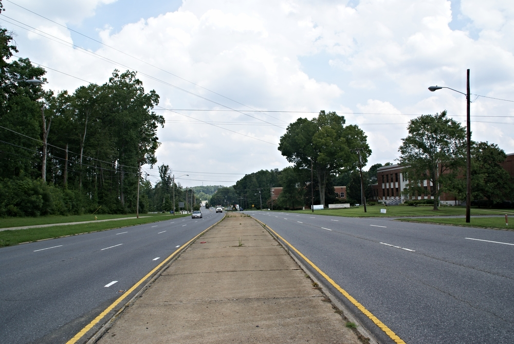 Wilkinson Boulevard at Gaston College