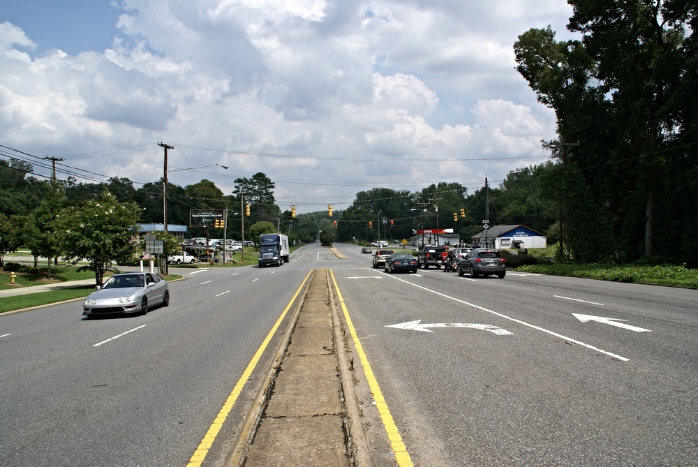 Wilkinson Boulevard at Catawba Street