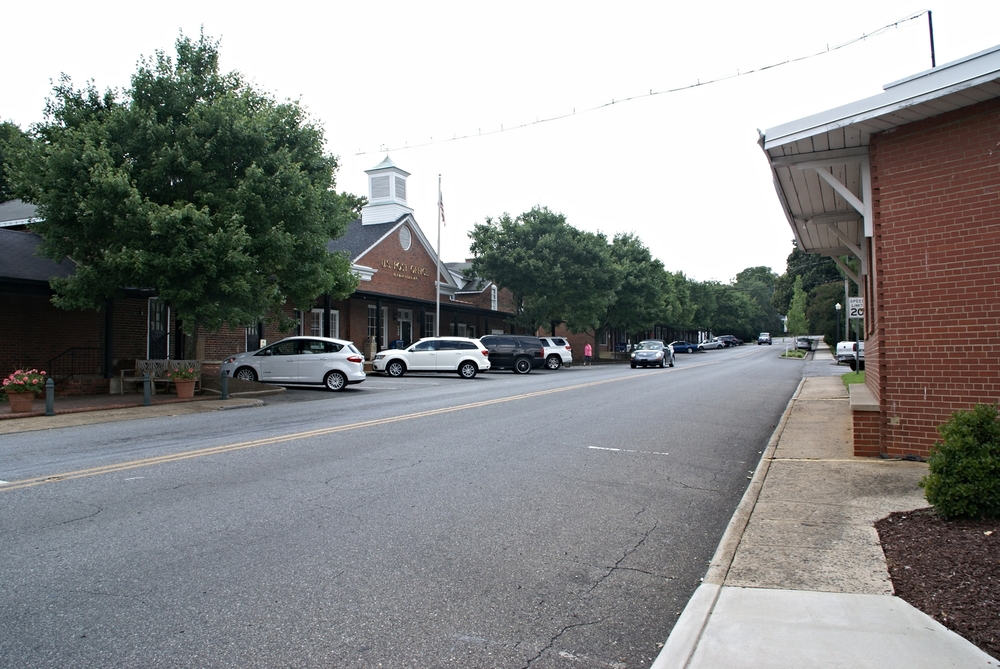 Main Street, downtown McAdenville