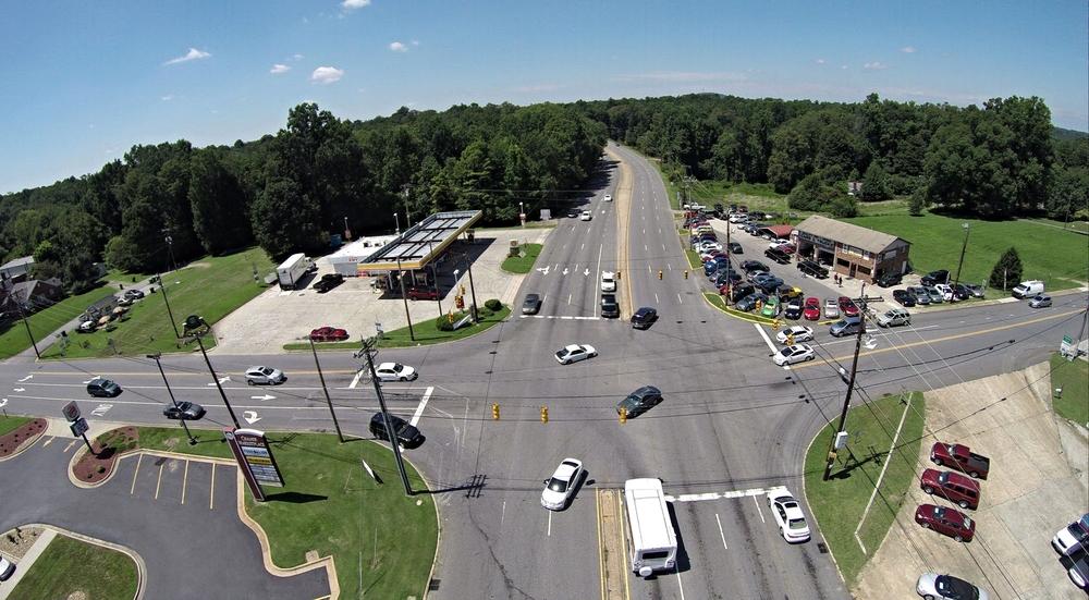 Wilkinson Boulevard at Market Street/Wesleyan Drive