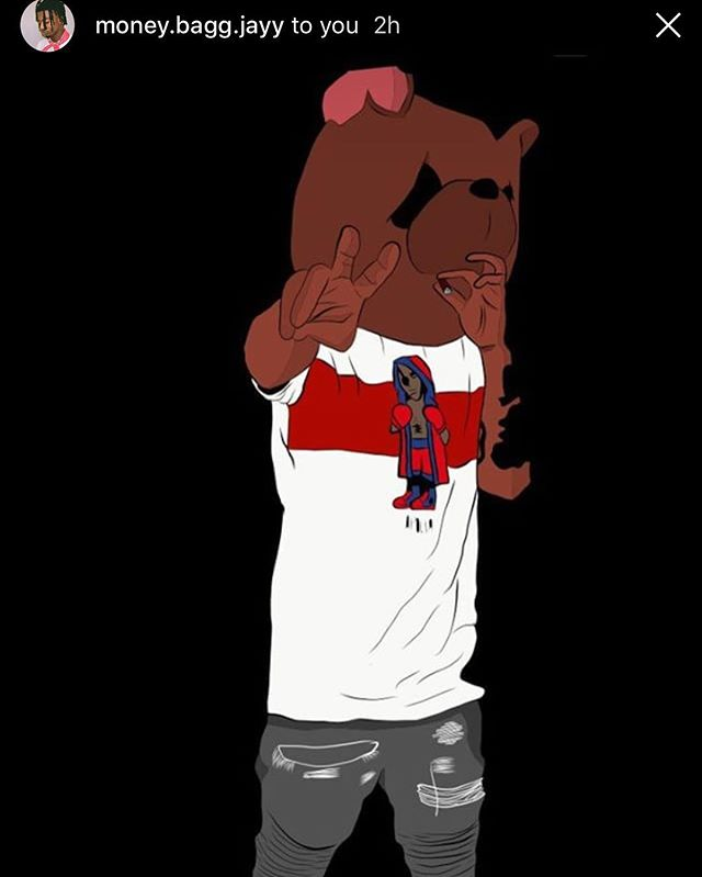 FanArt LITpic ✍️ by @money.bagg.jayy #thebearnecessities #art #majahlife #maschinelife #12west #googleplay #itunes #tidal #spotify #waianae #makaha #houston #harrisburg #newyorkcity #digitalart #grizzly #player #fresh #linkinbio