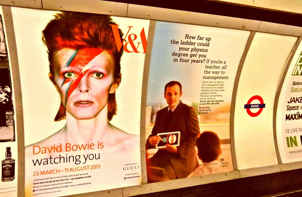 David Bowie is Watching You