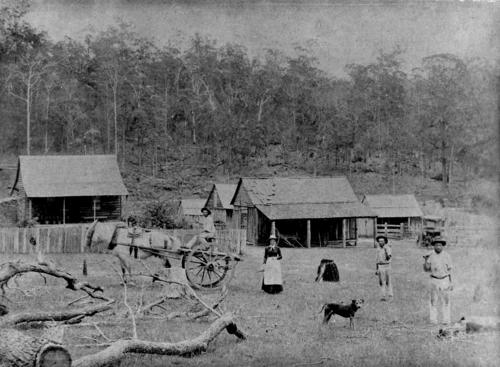 Site of Aspley State School 1887, Photo by unknown.