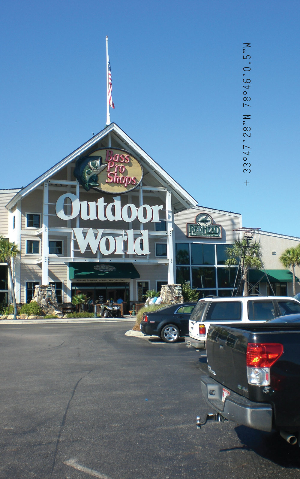 Figure 9.  Outdoor World at Myrtle Beach Mall.
