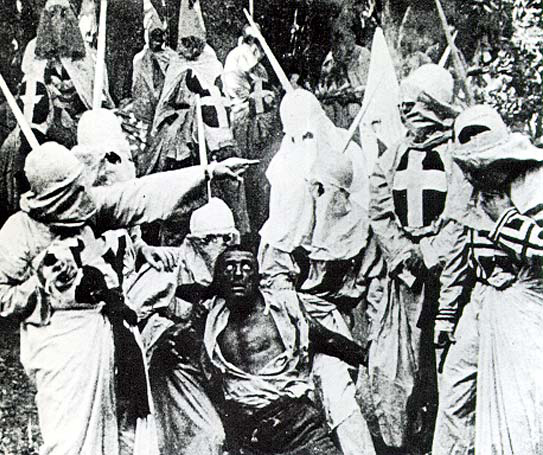 Image 4. Still from  The Birth of a Nation  (1915). Wikimedia Commons.