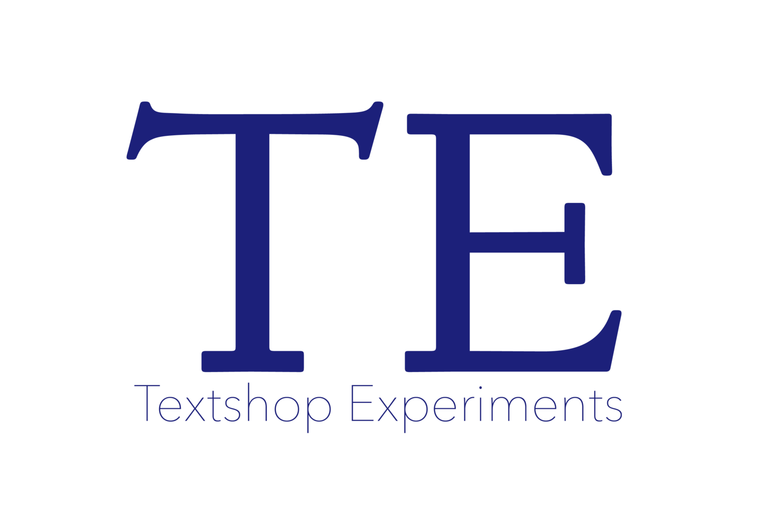 Textshop Experiments