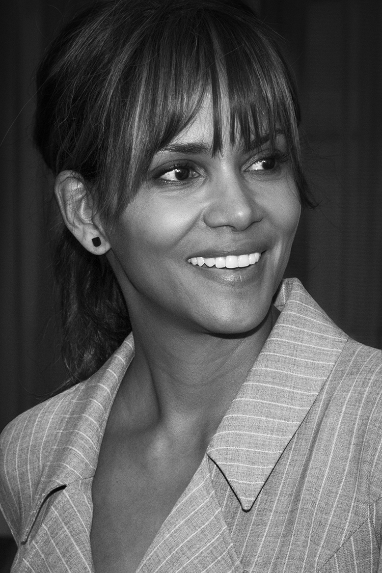 Halle Berry at the 2018 Matrix Awards