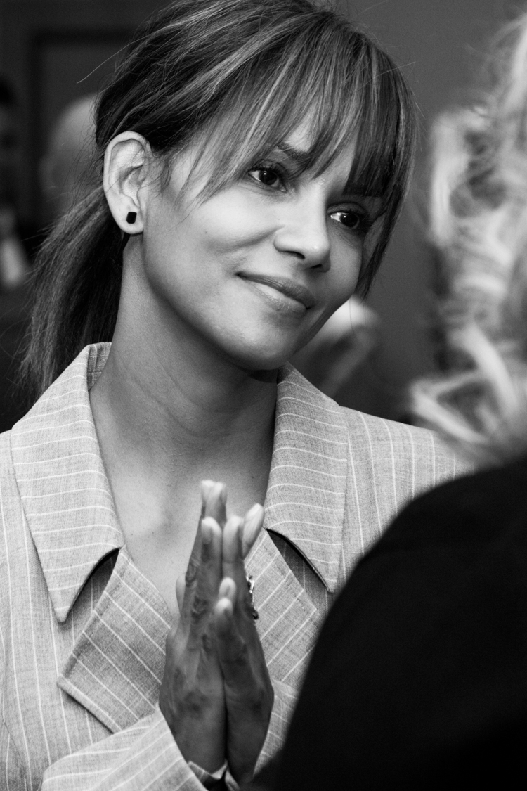 Halle Berry at the 2018 Matrix Awards in Conversation