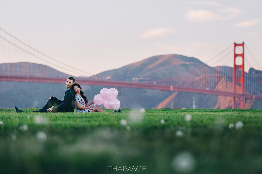 Sophy & Greg at Crissy Field