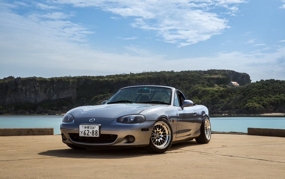 03' Mazda Roadster, Nick Otos