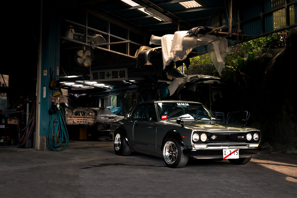 72' Nissan 2000 GTX, Eric Auberg