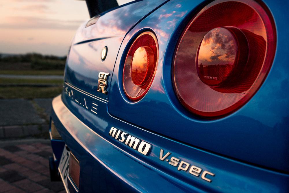 99' Nissan Syline GT-R V-Spec, Daniel Baker