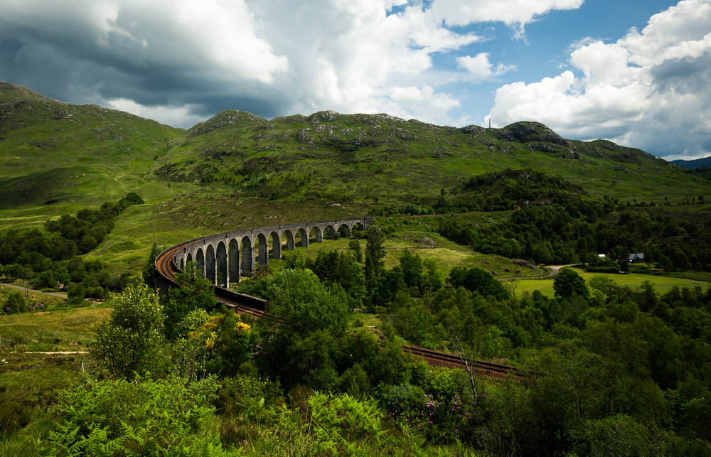 Glenfinnan Viaduct, The Highlands, Scotland