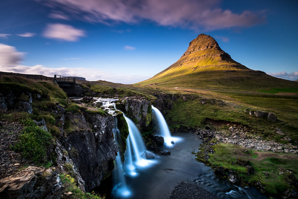 Kirkjufellsfoss,Grundarfjörður, Iceland