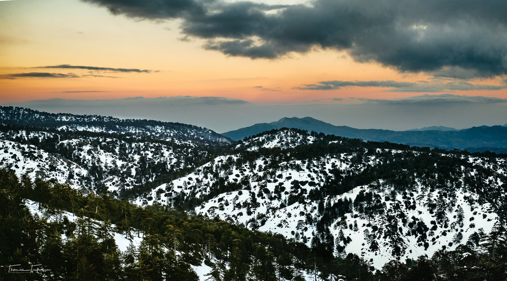Troodos is a must in the winter and still plenty worth it in the summer months.  There are so many small little villages and passes to roll through on your way up to the mountain peaks.  Take a day and spend it driving through the mountains, you wont regret it.
