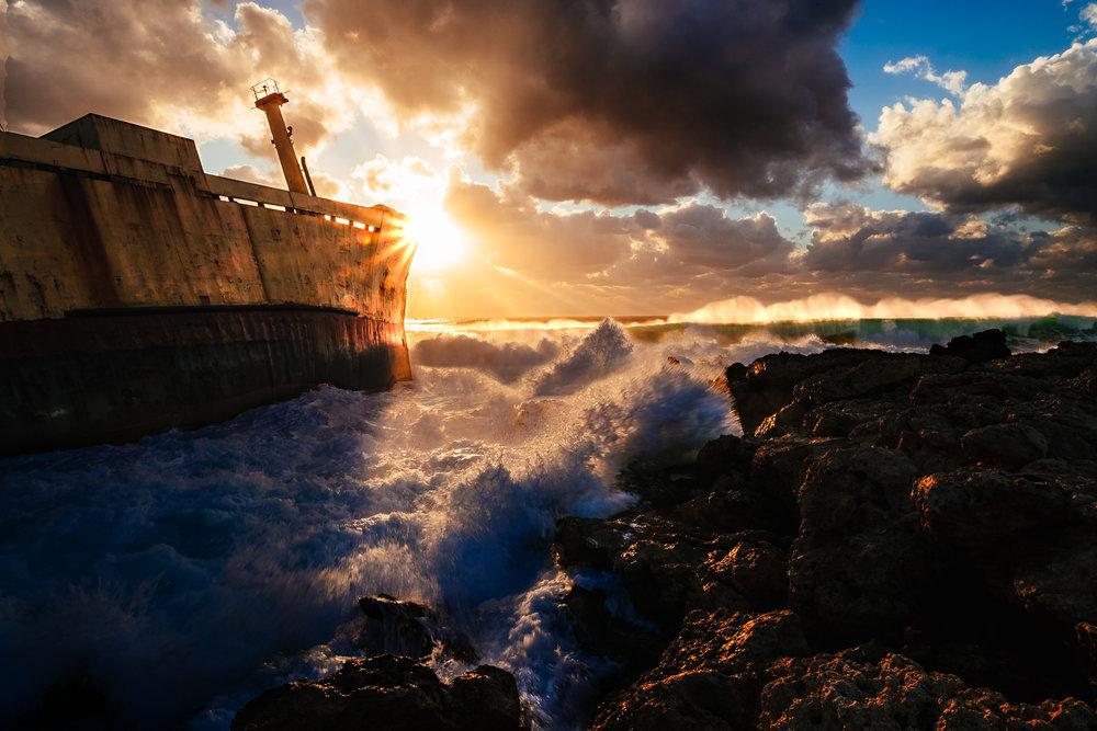 Edro III Shipwreck, Paphos, Cyprus