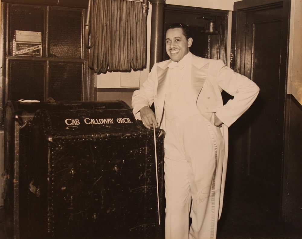 """Cab Calloway"", gelatin silver print, 8x10 in"