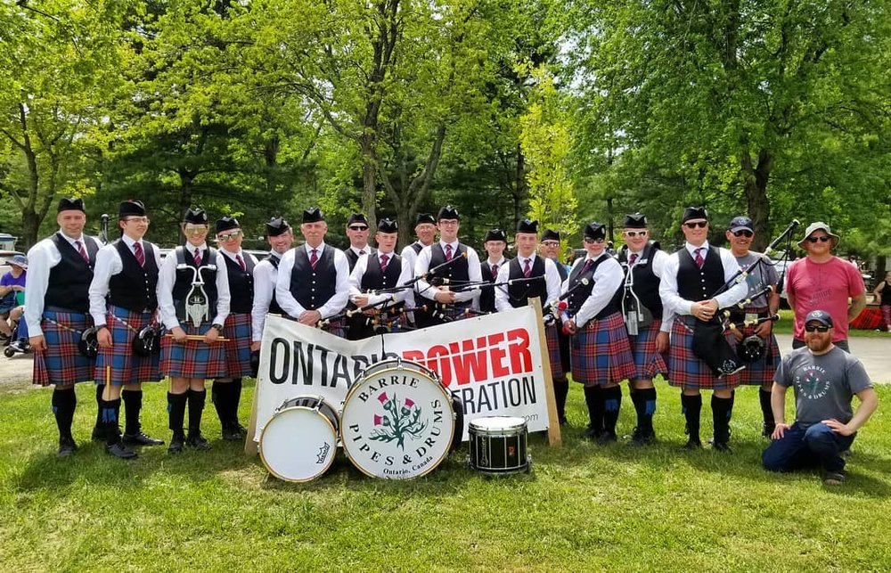 Kingston Scottish Festival, May 2018