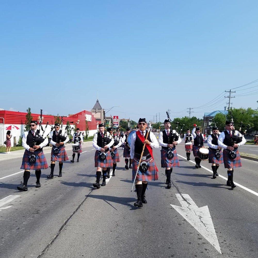 Aurora Canada Day Parade