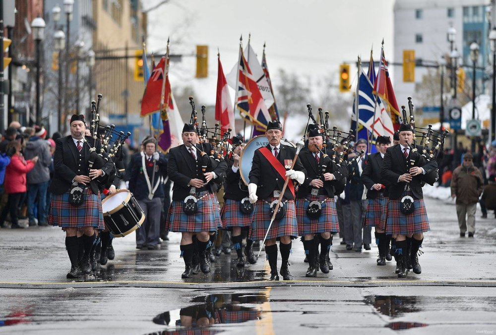 2018 Remembrance Day Service.  Photo by Mark Wanzel  https://www.markwanzelphotography.com