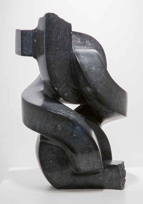 Paul Bloch ,   Nero,  2009, Marquina marble, 25 x 14 x 15 inches