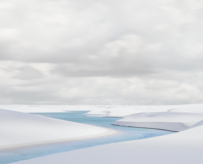Rio Azule I, Len    çois Maranhenses   , 2013, Archival pigment print, 32 x 40 inches