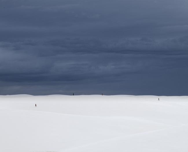 Desert walk, Lençois Maranhenses , 2013, Archival pigment print, 32 x 40 inches