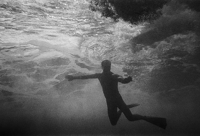 Waiting for a Wave (S-46),  1983/2014, archival pigment print, 11 x 17 inches