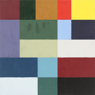 Charles Arnoldi,  Butterfles,  2006, OIl on aluminum, 32 x 32 inches