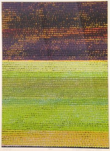 Madeleine Keesing,  Refuge , 2006, Silkscreen, 30 x 22 inches, ed. 14 of 25
