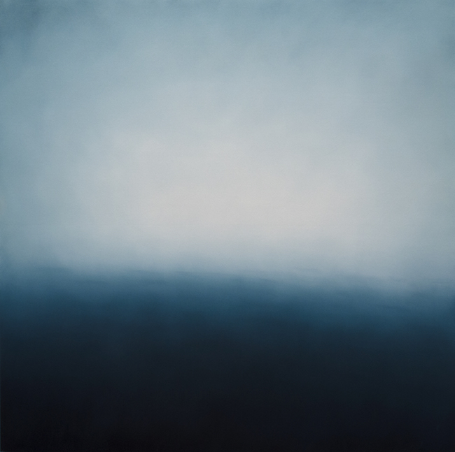 Alex Weinstein,  Alight , 2014, Oil on panel, 60 x 60 inches