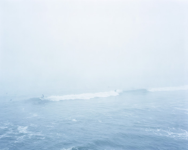 Jonathan Smith,  Surfers, Rodeo Beach, California , Archival pigment print, 32 x 40 inches, ed. of 10