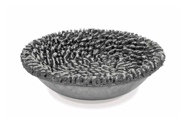 Stainless Bowl , 2003, Stainless steel (unique cast), 5 1/2 x 19 3/4 x 19 3/4 inches