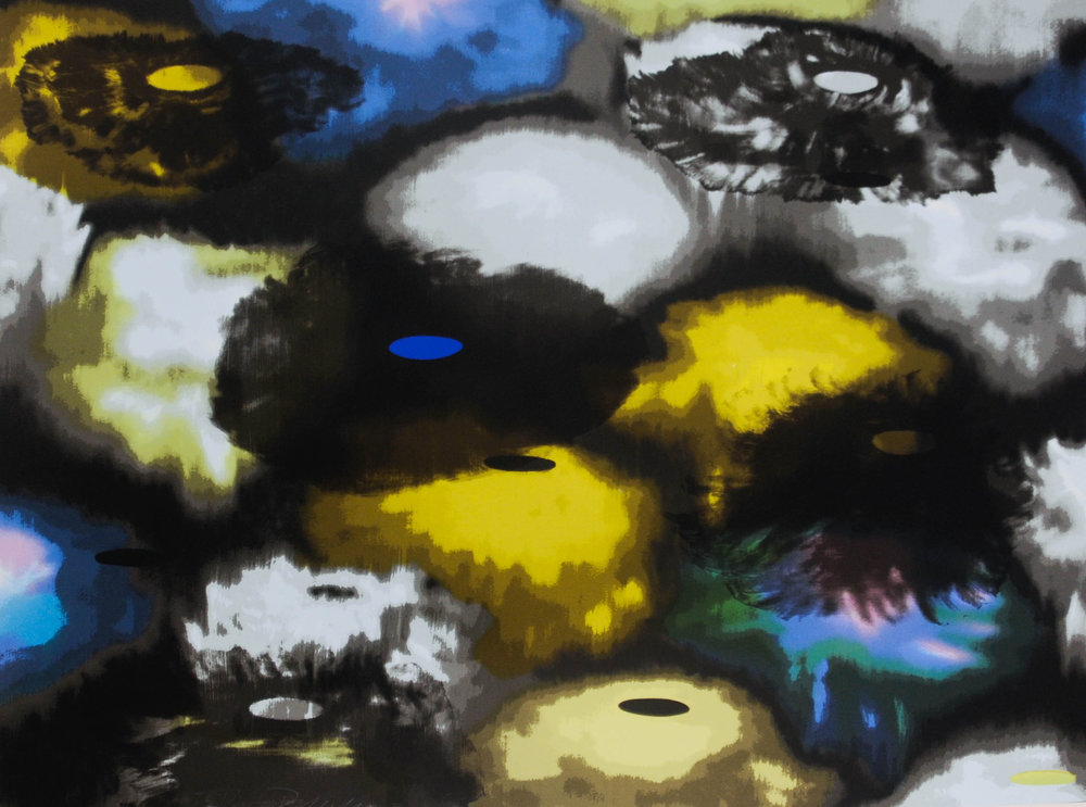 Ross Bleckner,   Dream and Do   I,   1997, 17-color screenprint, 33 x 42 inches