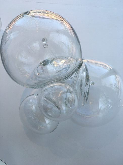 From the 'Equilibrium' series , 2008, Hand-blown glass, 11 1/2 x 17 x 12 inches