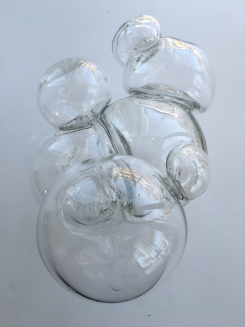 From the 'Equilibrium' series , 2008, Hand-blown glass, 12 x 18 x 12 1/2 inches