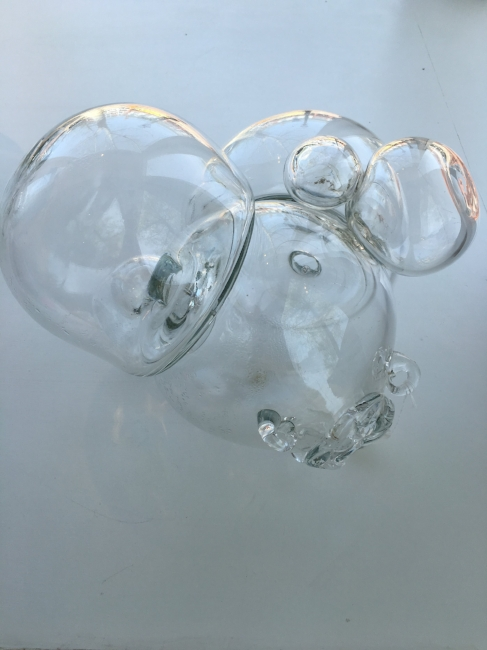 From the 'Equilibrium' series , 2008, Hand-blown glass, 11 1/2 x 15 1/2 x 15 inches