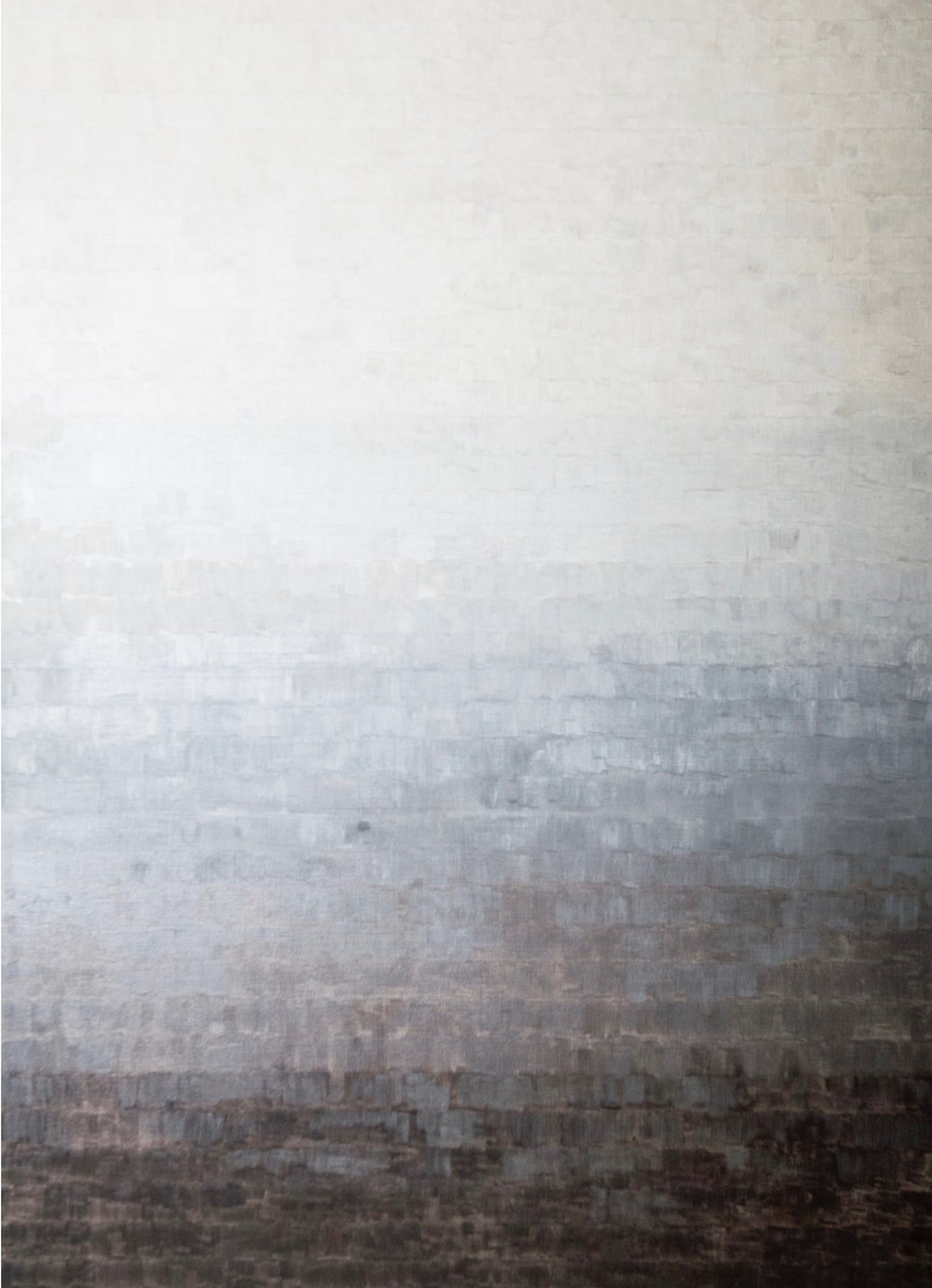 S-240,  2017, oil on canvas, 72 x 52 inches