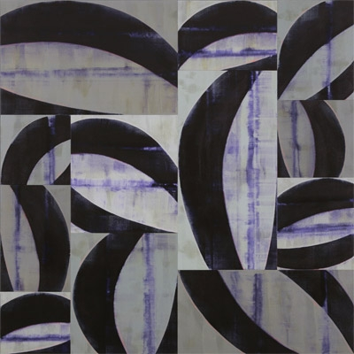 Anecdotes, 2007, acrylic on canvas, 96 x 96 inches